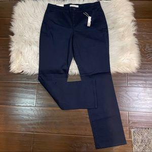 NWT Gloria Vanderbilt Blue Khaki Size 8 Short